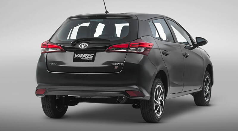 Yaris Hatchback Trasero
